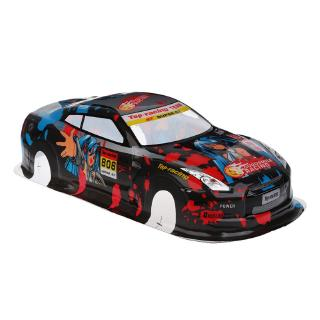 DE❀ S037 1:10 PVC Painted Body Shell RC Hobby Racing Car