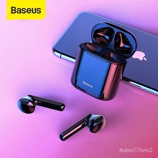 Baseus W09 TWS Bluetooth Không Dây Tai Nghe Điều Khiển Cảm Ứng Thông Minh Không Dây TWS Tai Nghe Với Âm Trầm Nổi Smart C thumbnail