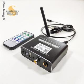 Bộ chuyển đổi quang học optical ra AV sang âm thanh audio có MIC hát và Bluetooth - BH 12 tháng