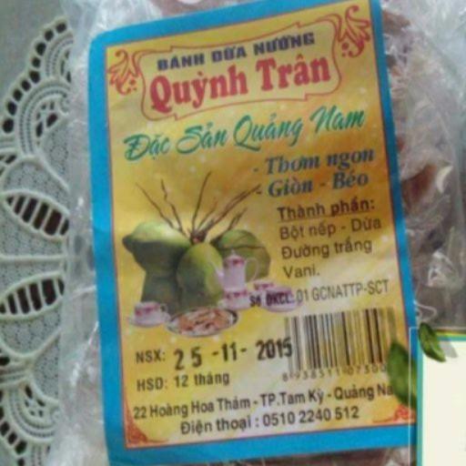 150gr Bánh dừa nướng Quỳnh Trân - 3012017 , 310111243 , 322_310111243 , 16000 , 150gr-Banh-dua-nuong-Quynh-Tran-322_310111243 , shopee.vn , 150gr Bánh dừa nướng Quỳnh Trân