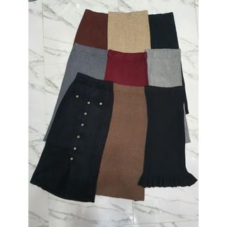 Chân váy len dáng dài 2hand, mới trên 90%, nhiều mẫu, nhiều size.
