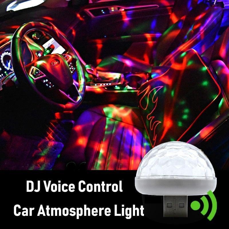Yêu ThíchĐèn neon nhiều màu gắn trong xe hơi