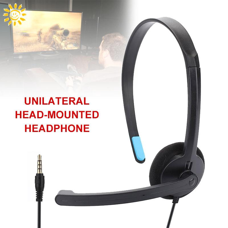 SMI Durable One Side Headset Headphone with Microphone Over-Ear Gaming Headset Giá chỉ 53.478₫