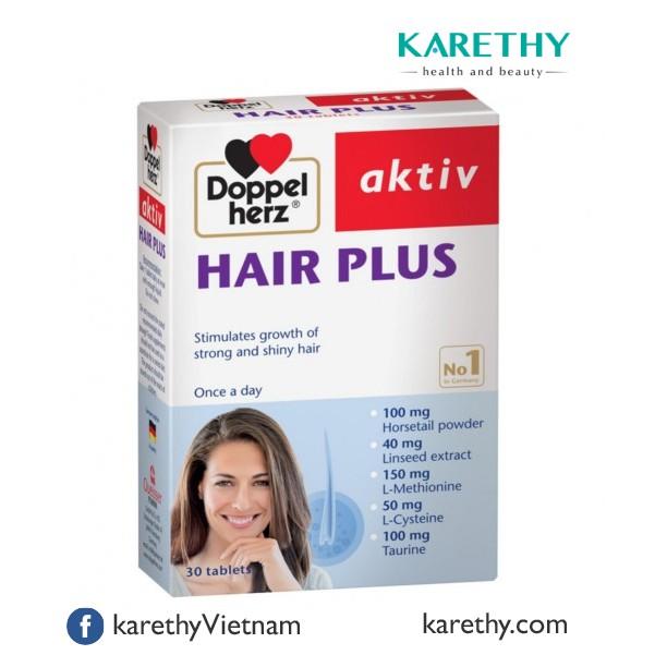 Doppelherz Hair Plus: Viên Uống Ngăn Rụng Tóc (30 viên) - 3510071 , 752143700 , 322_752143700 , 545000 , Doppelherz-Hair-Plus-Vien-Uong-Ngan-Rung-Toc-30-vien-322_752143700 , shopee.vn , Doppelherz Hair Plus: Viên Uống Ngăn Rụng Tóc (30 viên)