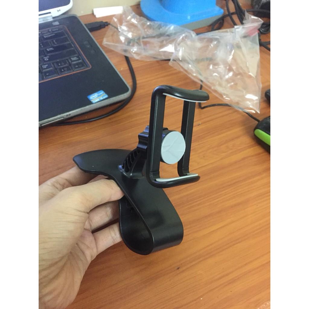 Giá đỡ điện thoại trên ô tô - Loại gắn taplo xoay 360° , chống trượt , giá kẹp taplo