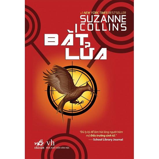 Cuốn sách Bắt Lửa (Đấu Trường Sinh Tử 2) - Tác giả: Suzanne Collins
