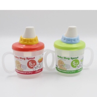 Cốc tập uống có vòi hút Baby Mug Spout Inomata Nhật Bản