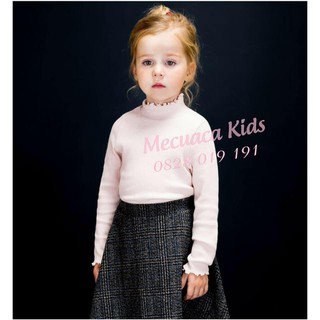 Áo len tăm cao cổ/cổ lọ/ cổ 3 cm cho bé/bé gái