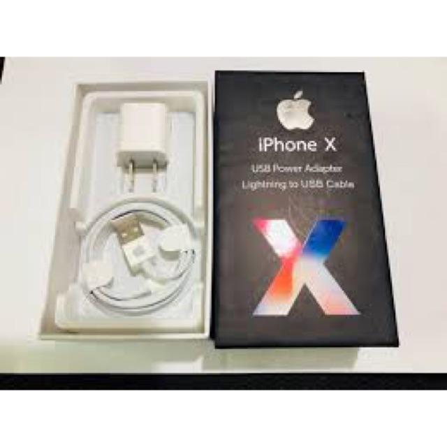 Bộ sạc IPhone X 5v 1a