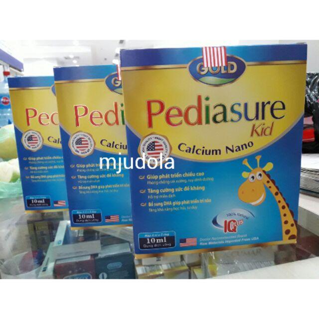 Pediasure Kid Calcium Nano hộp 20 ống