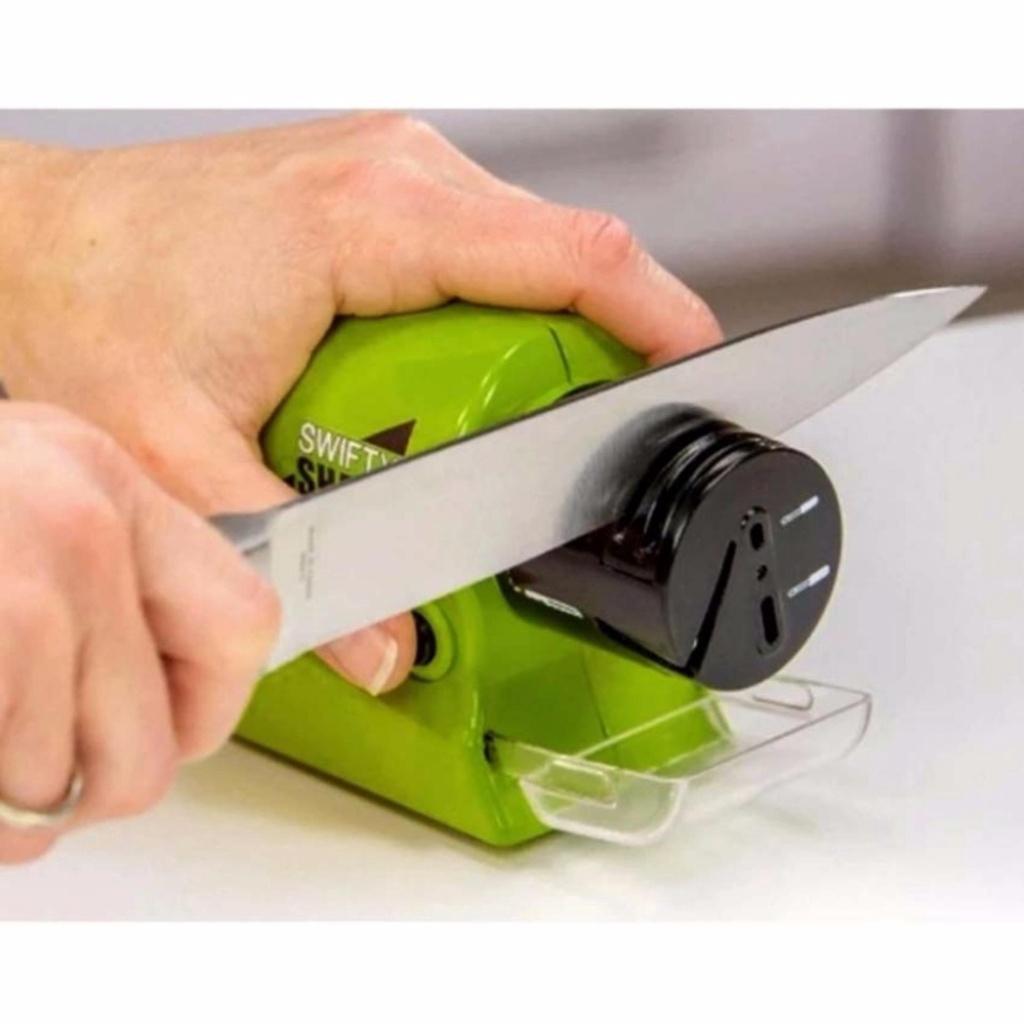 เครื่องใช้ไฟฟ้า SWIFTY SHARP ที่ลับมีด ไฟฟ้า เอนกประสงค์ ลับของมีคม ลับกรรไกรครื่องใช้ไฟฟ้า SWIFTY SHARP ที่ลับมีด ไฟฟ้า