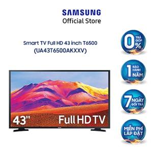 [Mã ELSSCP1TR giảm 5% đơn 3TR] Smart Tivi Samsung 43 Inch Full HD UA43T6500AKXXV – Miễn phí lắp đặt