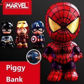 Superhero Piggy Bank Safe Saving Coin Box Bottle Piggy Bank for Paper Money Bank for Kid