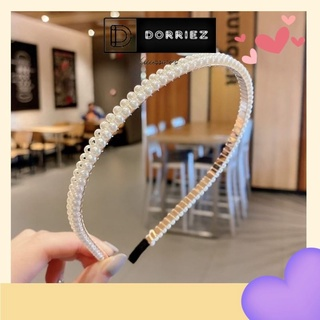 Cài tóc ngọc trai Hàn Quốc DORRIEZ bờm tóc đính đá xinh hot trend cho bạn gái thumbnail