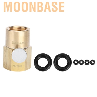 Moonbase CO2 Cylinder Refill Adapter Tr21x4 To W21.8-14-RH Soda Water Filling
