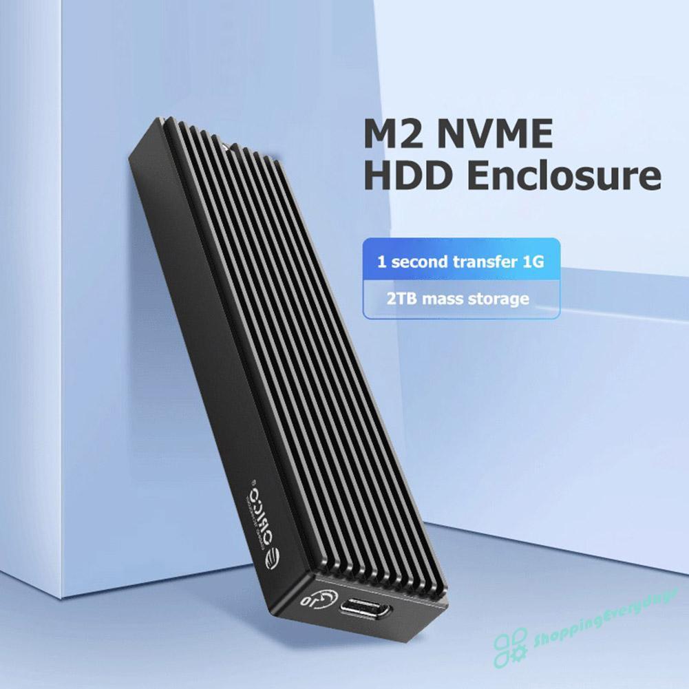 ORICO Vỏ Ổ Cứng Ngoài Sv Orico M2Pv-C3 Type-C M.2 Nvme Ssd Usb3.1 10gbps