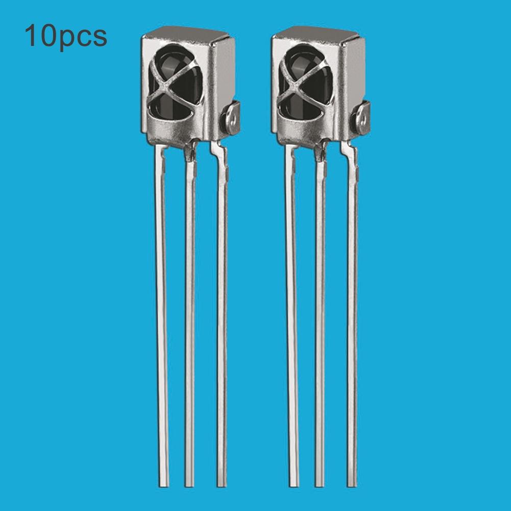 10pcs Universal IR Infrared Receiver V1838B TL1838 Sensor 1838 38Khz For Arduino UNO R