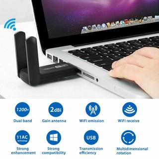 Ăng Ten Thu Sóng Wifi 1200mbps 5ghz Usb 3.0