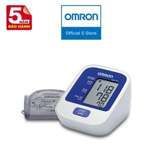 [Mã FMCGMALL giảm 8% Tối đa 80K đơn 250K] Máy đo huyết áp bắp tay tự động Omron HEM-7124