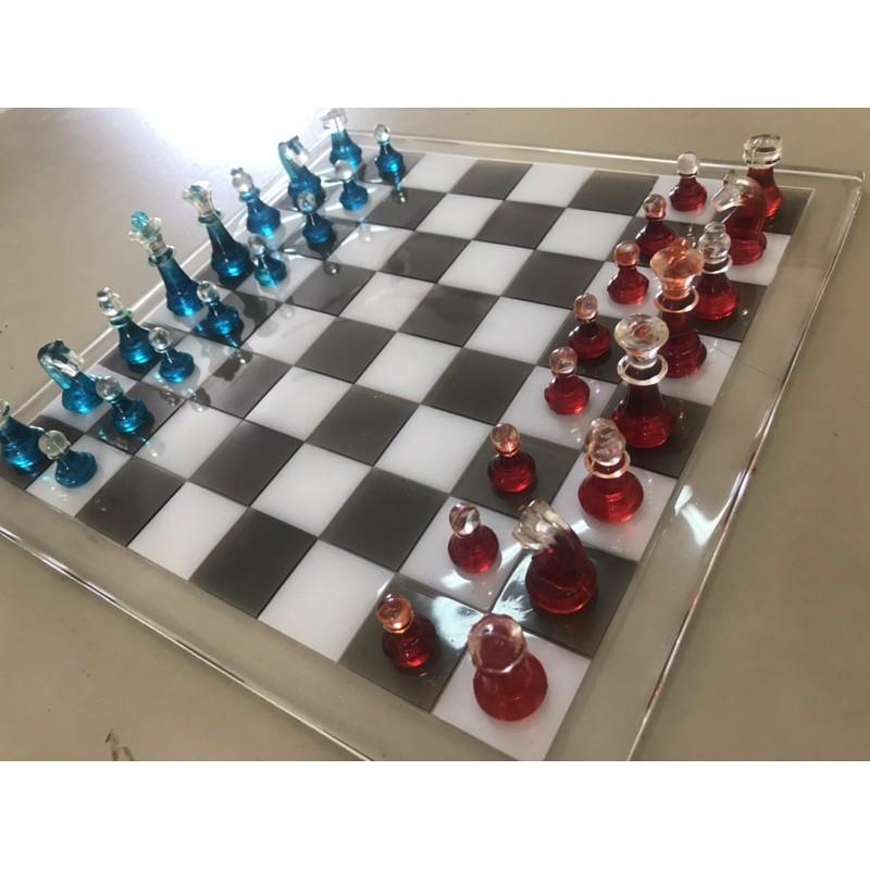 Bộ cờ vua tự làm theo yêu cầu