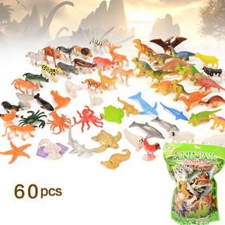 Mô hình 60 động vật ANIMAL WORLD thumbnail