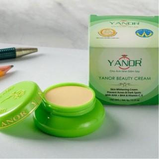 Kem dưỡng trắng da ngừa nám FREESHIP kem dưỡng da cao cấp Yanor giúp nuôi dưỡng da mịn màng, trắng sáng mỗi ngày