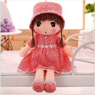 Búp bê vải Mayfair váy hoa 45 cm Hồng