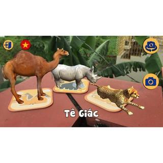 Hộp 60 thẻ animals 4D -Rẻ nhất