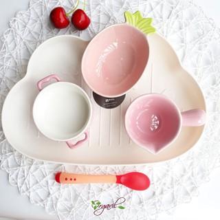 Khay Ăn Dặm Nhựa Hình Đám Mây Siêu Yêu Cho Bé, Giúp Bé Ăn Dặm Kiểu Nhật - Orgavil thumbnail