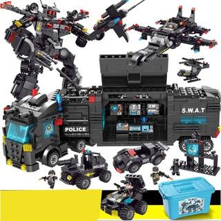 Lego xếp hình Black Eagle Warfare