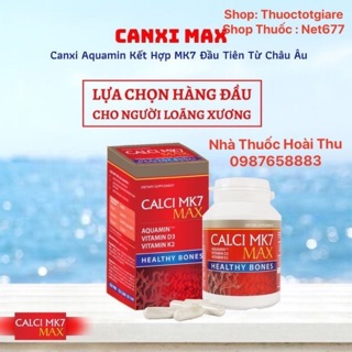 [ Kèm Quà Tặng ] CALCI MK7 MAX - Canxi tảo đỏ tự nhiên cho bà bầu , tăng chiều cao , chống loãng xương ( Ba Lan ) thumbnail