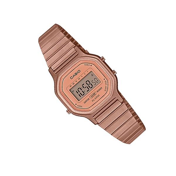 Đồng hồ nữ dây kim loại Casio Standard chính hãng Anh Khuê LA-11WR-5ADF
