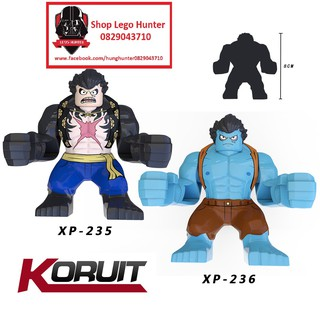 Yêu ThíchLego Bigfig One Piece Luffy biến hình XP 235 236