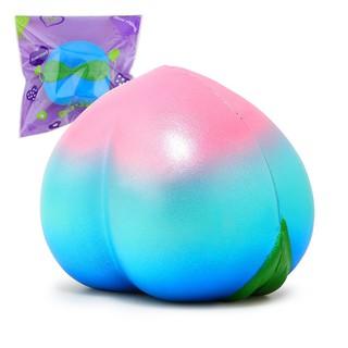 Đồ chơi bóp mềm , hình trái đào nhiều màu , có mùi thơm |loamini565