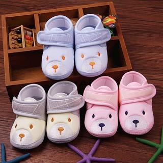 Giày tập đi ❤️NỔI BẬT❤️ Giày đế cao su tập đi chống trơn trượt cho bé 3-12 tháng- giày bên đẹp, êm chân