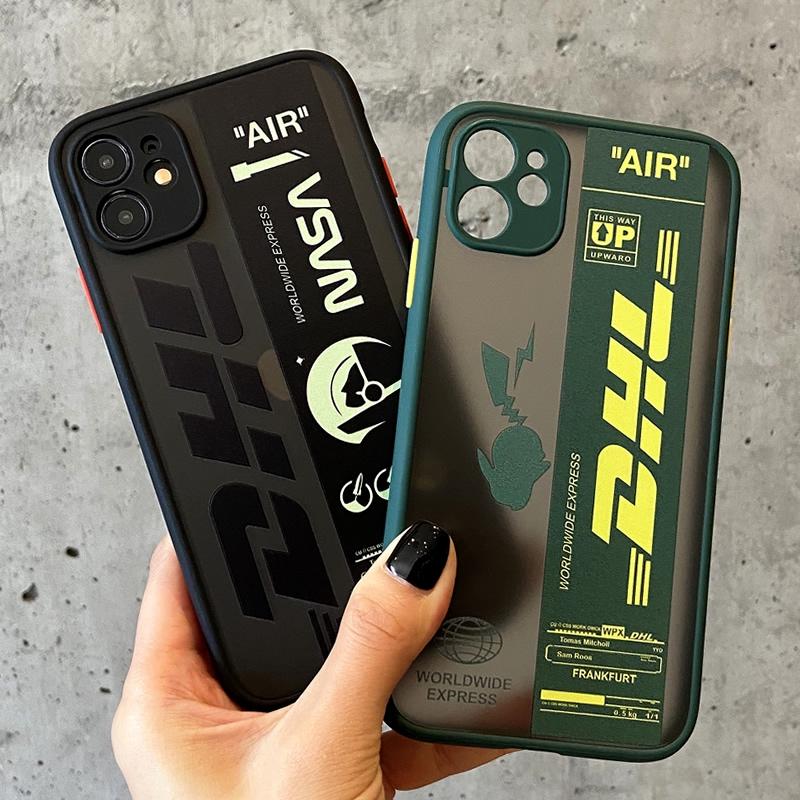 Ốp điện thoại mềm họa tiết DHL/ NASA độc đáo cho iPhone 11 Pro MAX i7 i8 plus XR XS MAX