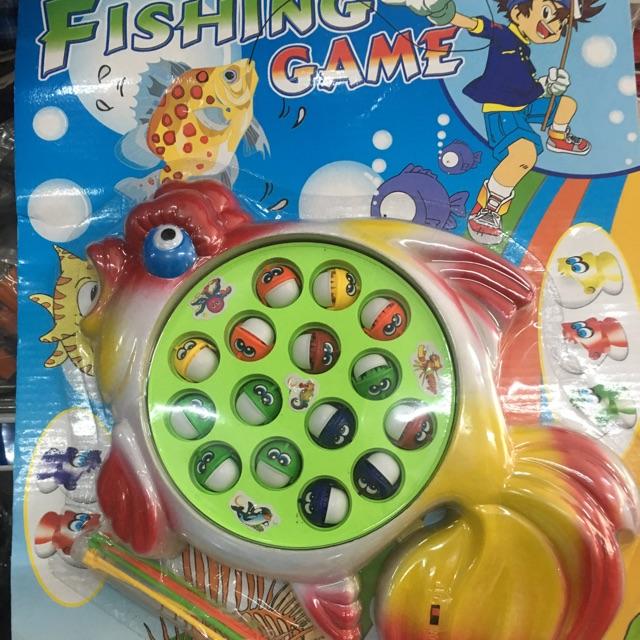 Bộ đồ chơi câu cá điện tử