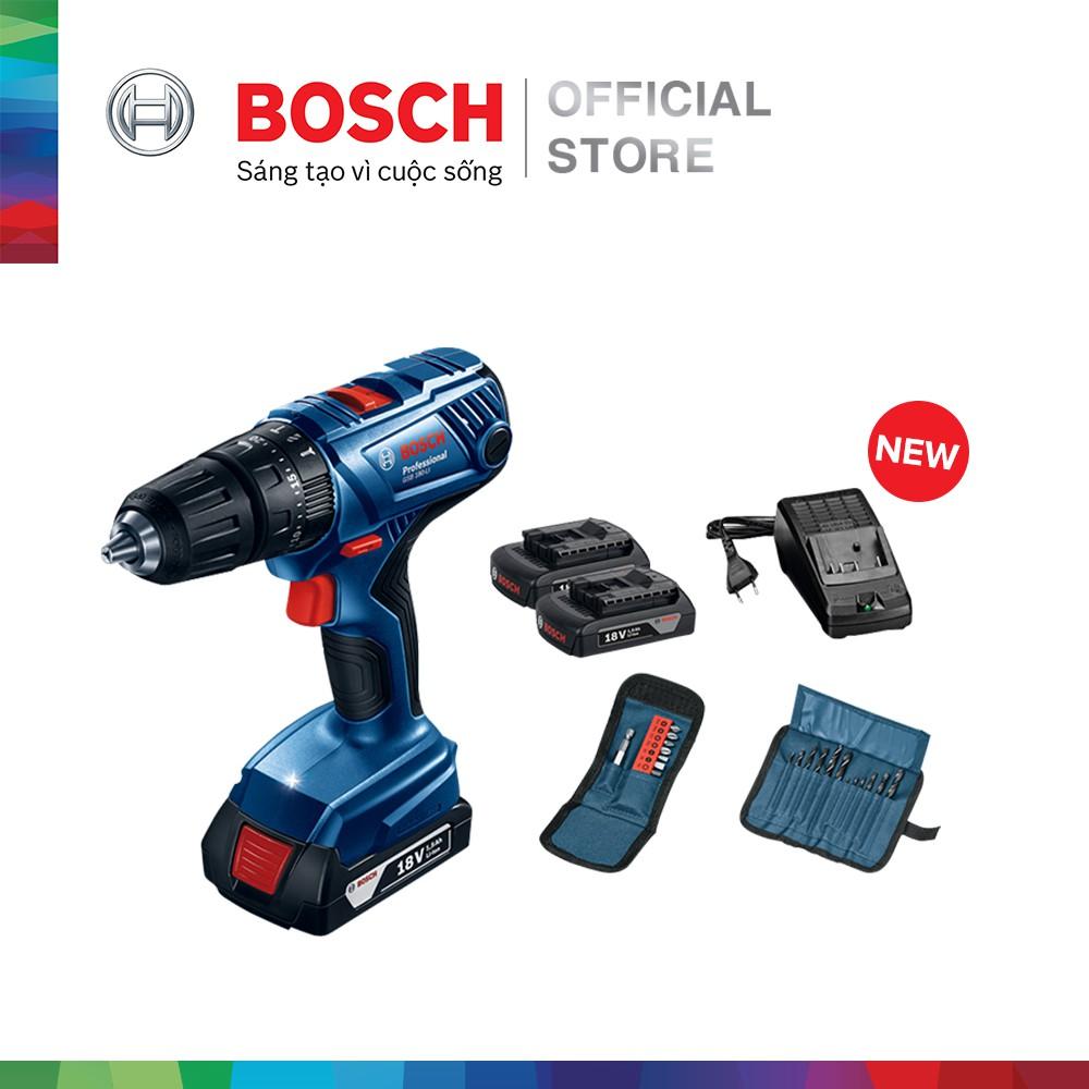 [NHẬP BOSCH10 GIẢM 10%] Máy khoan vặn vít dùng pin động lực Bosch GSB 180-LI + phụ kiện MỚI - 3134669 , 1285081400 , 322_1285081400 , 5100000 , NHAP-BOSCH10-GIAM-10Phan-Tram-May-khoan-van-vit-dung-pin-dong-luc-Bosch-GSB-180-LI-phu-kien-MOI-322_1285081400 , shopee.vn , [NHẬP BOSCH10 GIẢM 10%] Máy khoan vặn vít dùng pin động lực Bosch GSB 180-L