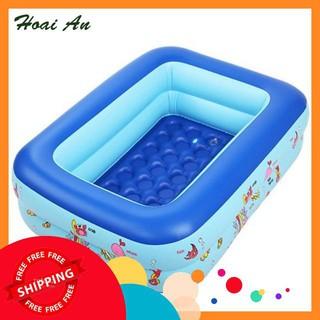 [SIÊU TIẾT KIỆM] Bộ bể bơi 1m5 3 tầng + bộ câu cá + 100 banh ( bóng ) nhựa + xúc cát khuyến mãi
