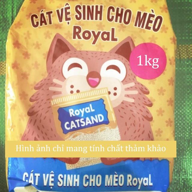 Cát vệ sinh cho mèo (dạng liti thơm khử mùi) 1kg