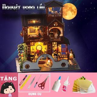 Mô hình nhà búp bê tự ráp Nguyệt Vọng Lầu