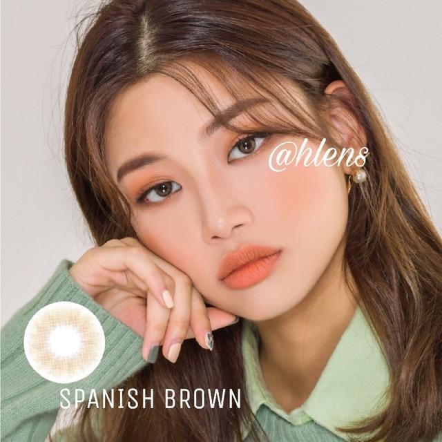Kính áp tròng SPANISH BROWN - NÂU TÂY