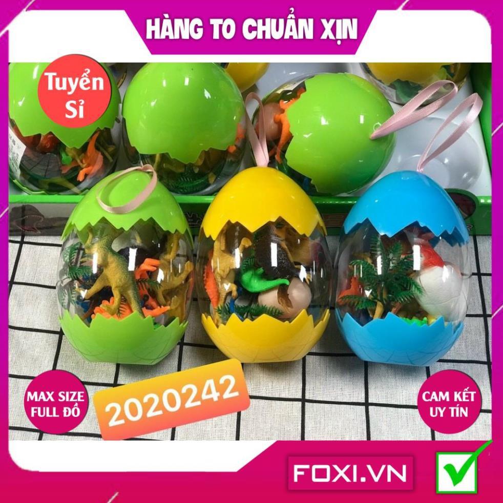 [FREESHIP HÀNG ĐẸP] Bộ đồ chơi trứng Khủng Long-Mô hình nhựa dẻo-siêu bền-sưu tầm-chơi trong nhà-màu sắc bắt mắt