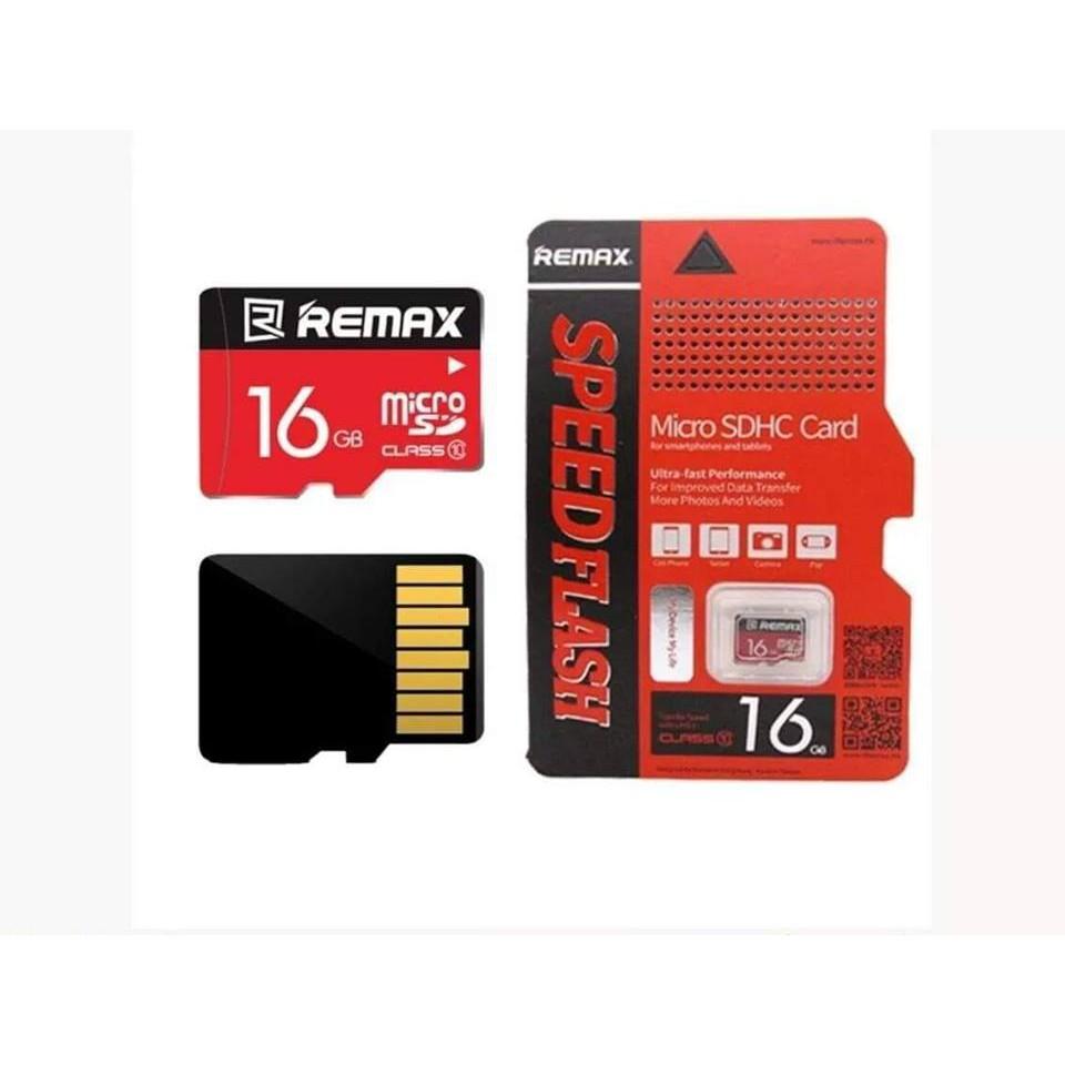 Thẻ Nhớ MicroSD Chính Hãng Remax 16GB