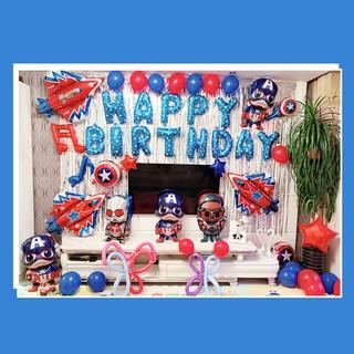 KIDBLUE Korean Large Standing Mickey Balloon Children's Birthday Party Decoration And Arrangement Of Aluminum Balloon Toys