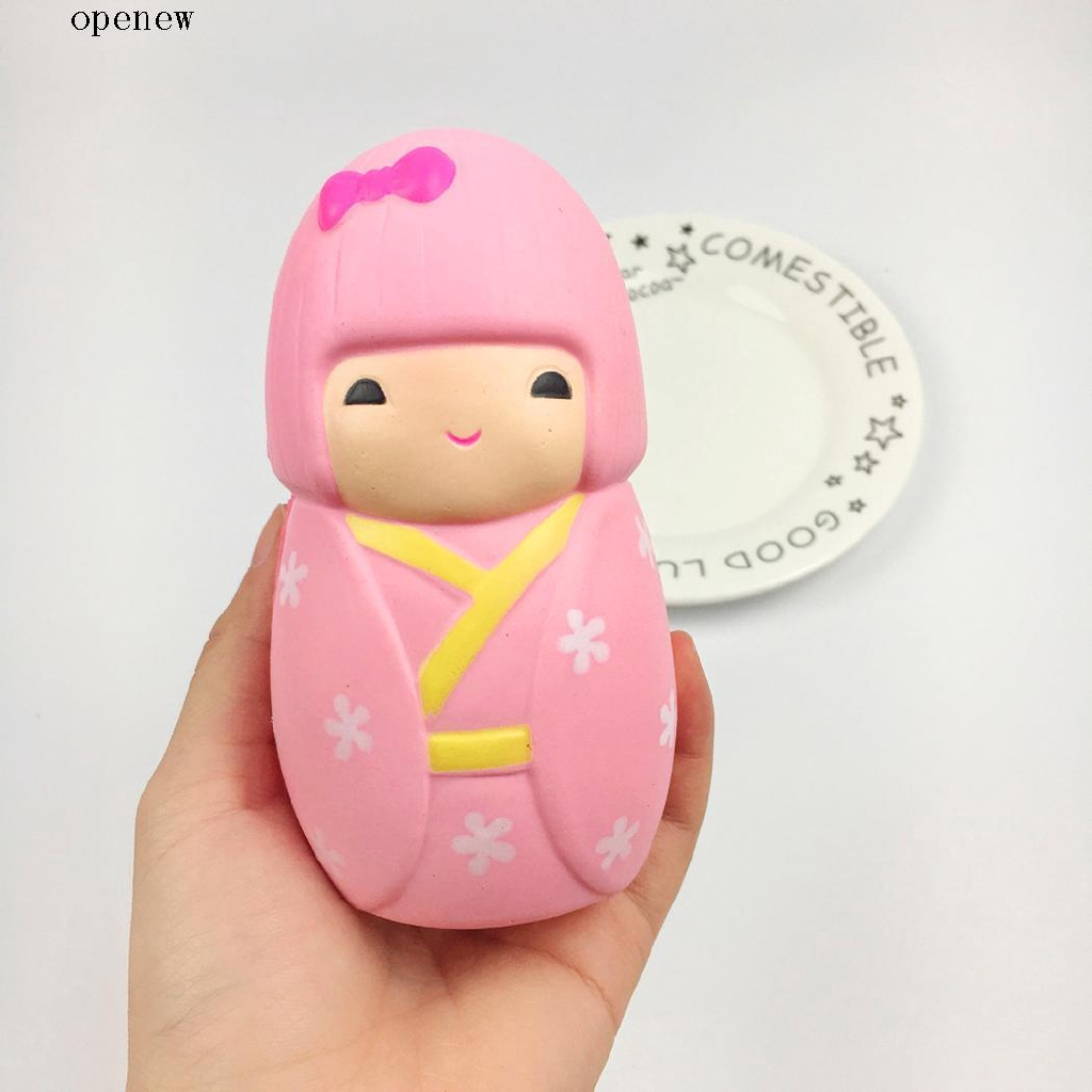 op Soft Cartoon Squishy Slow Rising Relieve Decompress Squeeze Toy
