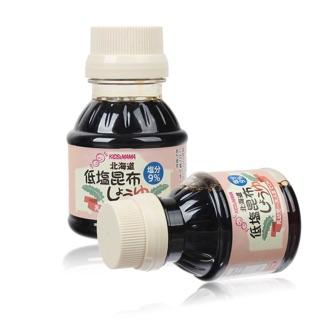 [hsd 2021] Nước tương tảo bẹ tách muối Hokkaido Kids Mama 100ml Nhật Bản
