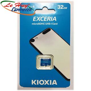 [Mã ELFLASH5 giảm 20K đơn 50K] Thẻ nhớ MicroSD Kioxia Exceria 32GB Class 10