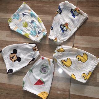 (Xả lỗ) set 10 quần đùi cotton giấy đủ size thumbnail