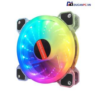 Quạt Tản Nhiệt, Fan Led RGB Coolmoon X2, 16 Triệu Màu, 366 Hiệu Ứng - Đồng Bộ Hub thumbnail